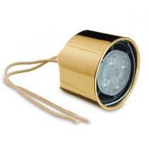 GFLD.002 Φωτισμός σποτάκι led, χρώμα μπρούτζος, γιά σωλήνα Ø 38.1mm