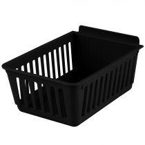 BX402-B Καλάθι αποθήκευσης 224x140x98mm μαύρο, πλαστικό, cratebox