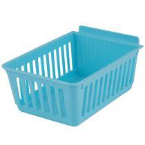 BX402-N Καλάθι αποθήκευσης 224x140x98mm μπλε, πλαστικό, cratebox
