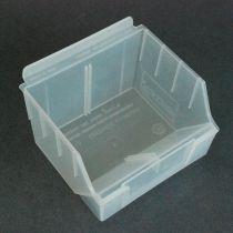 BX101-C Καλάθι αποθήκευσης 130x140x97mm διάφανο, πλαστικό, storbox