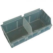 BX102-C Καλάθι αποθήκευσης 130x290x97mm διάφανο, πλαστικό, storbox