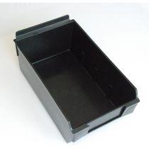 BX202-B Καλάθι αποθήκευσης 235x140x95mm μαύρο, πλαστικό, selfbox