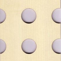 F26.MA Επιφάνεια ξύλου, διάτρητη 4mm 3050x1240mm ΣΦΕΝΔΑΜΟΣ