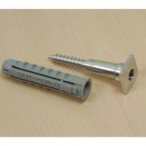 LM673-1 Υποδοχή εξαρτημάτων 22x22x70mm για προβολή προιόντων, αλουμίνιο, με ούπα Φ14mm