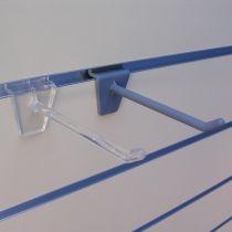 PF161-4 Αγκιστρο μονό 100mm διαφανές, πλαστικό