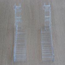 PF176-3 Βάση προβολής προιόντων 290mm, πάχος 4mm, για πίνακα δεξιά, διαφανής, ακρυλική