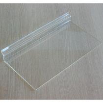 TW492-1 Ράφι ίσιο 300x155mm, πάχος 2.5mm, διαφανές, ακρυλικό